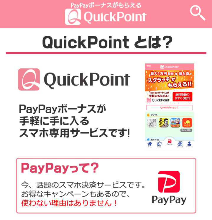 QuickPoint(クイックポイント)とは?