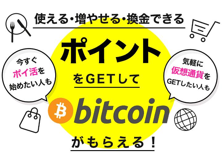 ビットコイン(bitcoin)に交換する